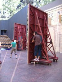 Le barbier de Seville, Aix en provence lyric festival / Stage director : David Radok Scenography : Ivan Theimer Conductor : Daniel Gatti