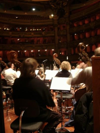 Live concert, Paris