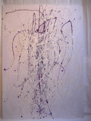 Traviata folie/ Acrylic and Glycero on wood / 2008