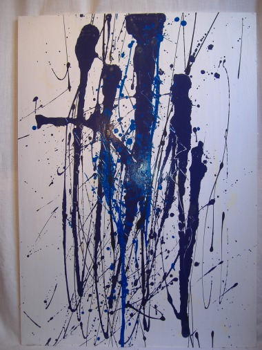 Walkiries / Acrylic and Glycero on wood / 2008