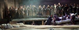 Il Pirata, Marseille Opéra / Conductor : Fabrizio Maria Carminati Stage Conductor : Stephen Medcalf Scenography : Jamie Vartan