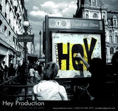Hey Production advertisement