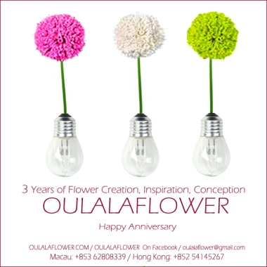 3rd Anniversary OULALAFLOWER