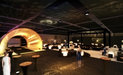 Jocket Club Cocktail Event, HK Uniplan, 2013. Artistic concept and production, performance, deco mood board