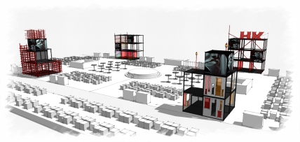 ARC , Jocket Club HK Uniplan 2014, Closing ceremony, Set design concept and performance show concept
