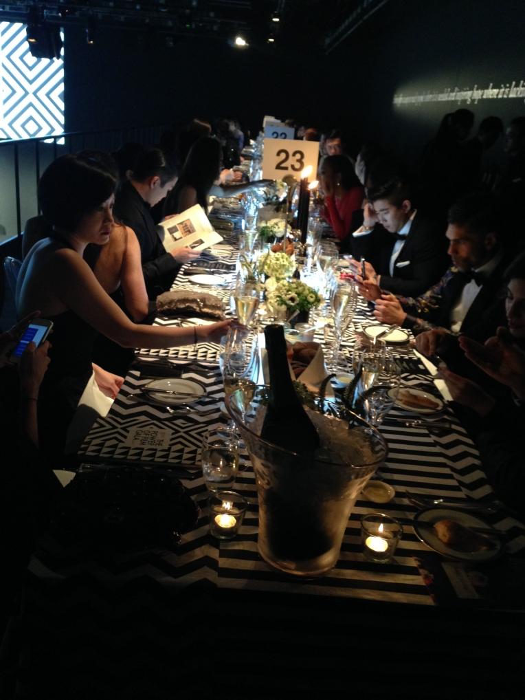 MOET & CHANDON Film Aid Gala diner diner HK Event, Uniplan SH 2014, Props display, flower deco, over view details production