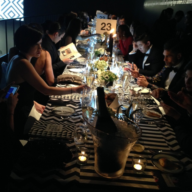 MOET & CHANDON Film Aid Gala diner diner HK Event, Uniplan SH 2014, Props display, flower deco, over view details production