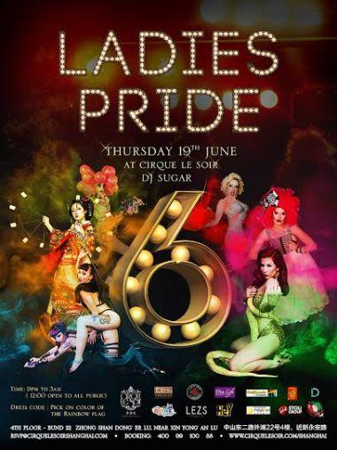 Shanghai Pride flyer promotion 2014
