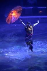 Dai Show Xishuangbanna China 2015 LED Umbrellas LED Umbrellas LED Chinese Umbrellas Design and production