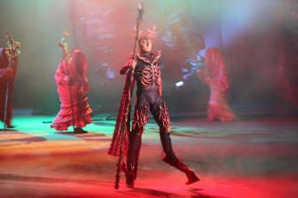 Dai Show Xishuangbanna China 2015 Shaman Stick Design and production