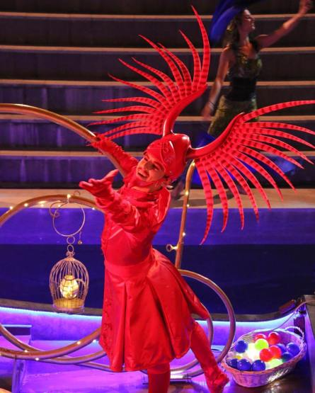 Rixos Antalya Turkey Park. Parade and show by Franco Dragone / Mickael La fleur / Props and set design Production Mai 2016