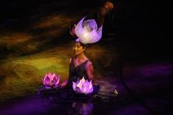 Dai Show Xishuangbanna China 2015 Lotus lantern
