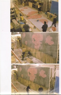 Set painting , Marseille Musical show, 2003