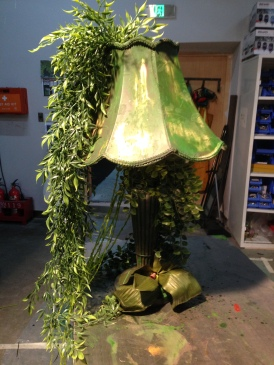 Dai Show Xishuangbanna China 2015 Lamp props Jungle