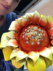 Dai Show Xishuangbanna China 2015 Walbra Flower thermoplastic and diamonds