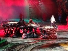 Dai Show Xishuangbanna China 2015 Set design Patina and touch up