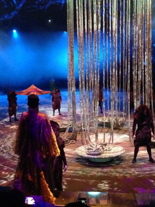 Dai Show Xishuangbanna China 2015 Incense holder scene. Body tree ropes Design and production