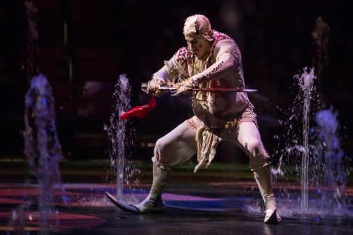 Clown Sword, The House of dancing Water Show , Props manufacturing, Fiber Glass , Polyurethane, Macao, 2009-2013