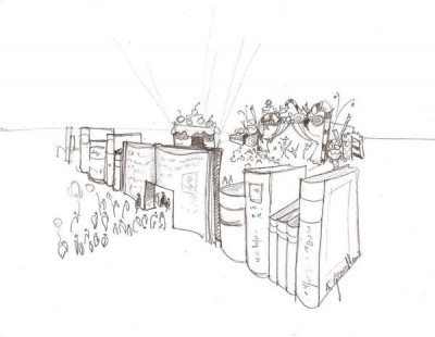 Doha Festival Opening Scketch, 2005