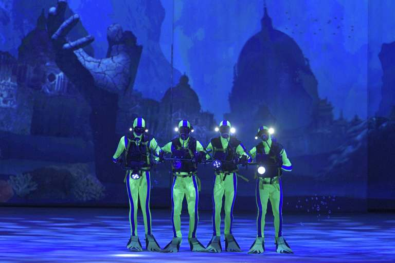 Holiday On Ice Productions 'Atlantis'